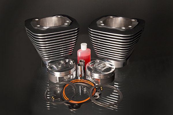 "Twin Cam 113"" Big Bore Kit Black Highlight"