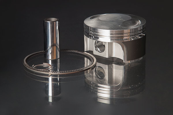 Revolution Performance Piston Kit +8.2cc Dome for 600cc Buell Blast