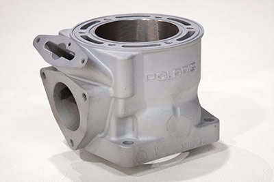 2002 Polaris 800 stock bore, ported cylinder