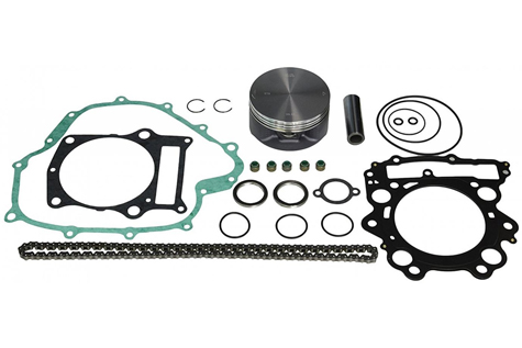 Vertex Piston Kit w/Gaskets for 2001-2005 Yamaha Raptor 660 ATV