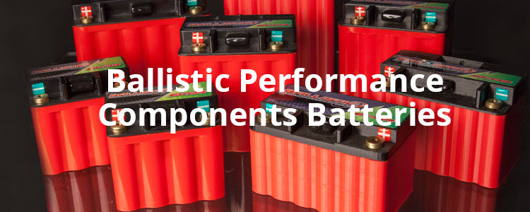 Ballistic Performance Components batteries