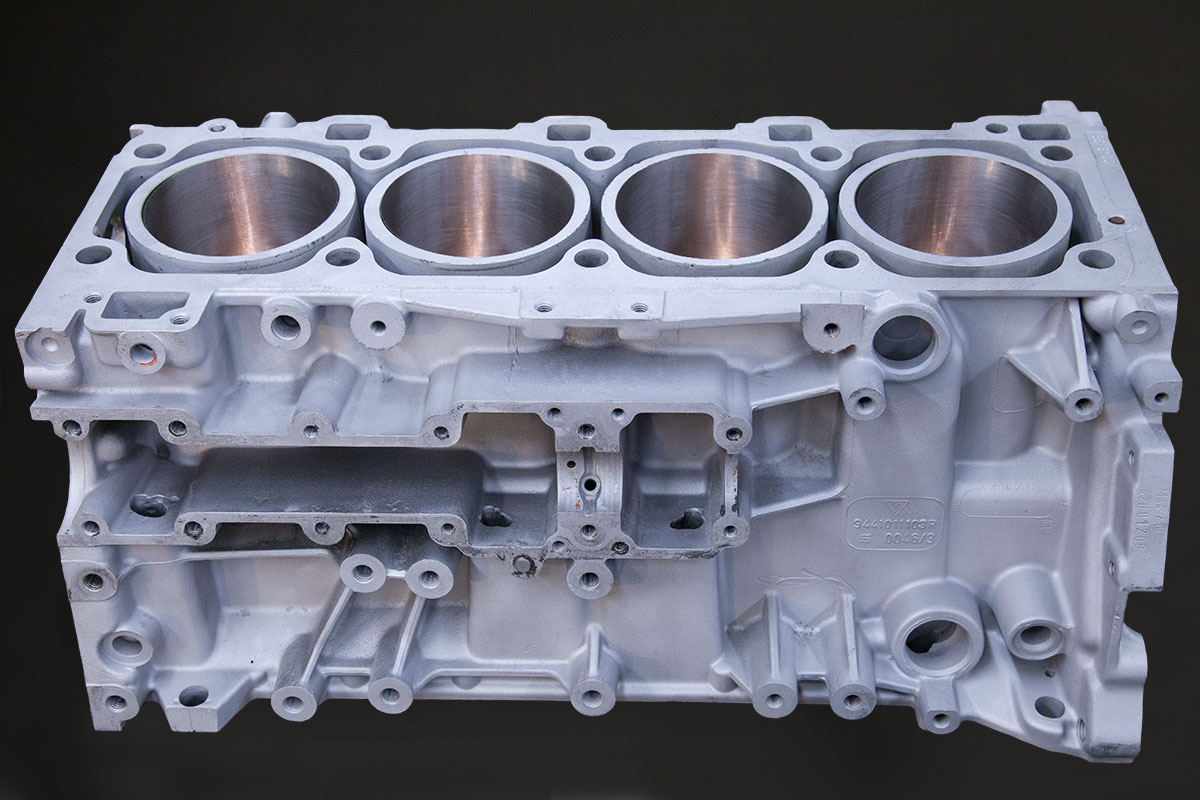V8 Automotive Block