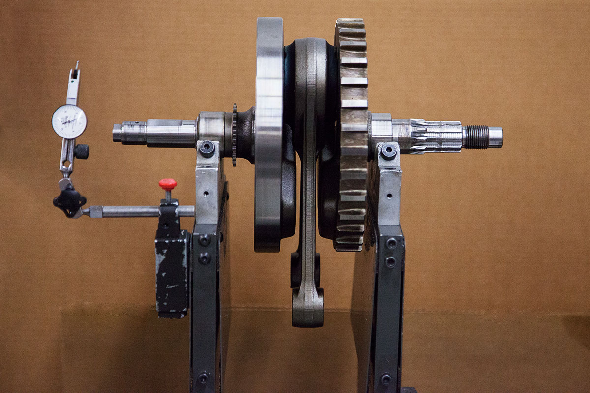 Dynamically Balancing Crankshaft