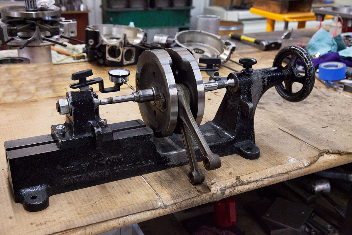 Truing Crankshaft