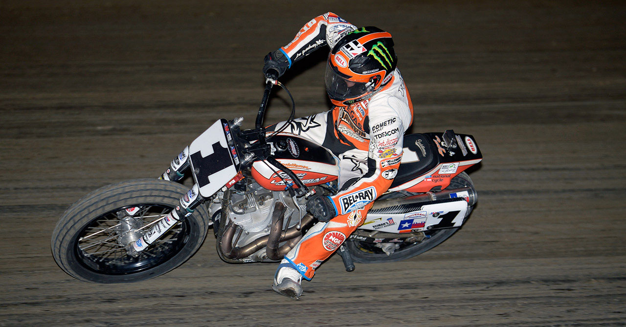 Jared Mees AMA Pro Flat Track Racer